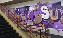 Graffit-Gemälde