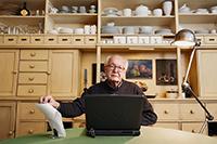 Harald Weinrich – Sprachwissenschaftler und kosmopolitischer Intellektueller: Jetzt steht sein Name für einen internationalen Gastlehrstuhl. Foto: Yves Noir