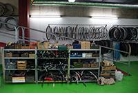 Der Ra(d)tschlag hat sich vergrößert: Mehr Platz für Reparaturarbeiten und Ersatzteile.