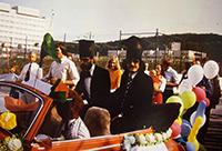 Im Juli 1974 feierten die beiden ersten Doktoranden der Fakultät für Chemie an der Universität Bielefeld ihre Promotion. Einer der beiden wird bei der 40-Jahr-Feier erwartet. Foto: privat