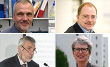 Portraits Dietz, Weisshaar, Carrier und Kohse-Höinghaus