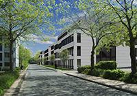 2018 sollen die ersten technologieorientierten Start-Ups und Unternehmen in das Innovationszentrum Campus Bielefeld einziehen. Visualisierung: Bielefelder Gemeinnützige Wohnungsgesellschaft mbH