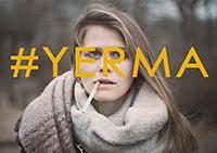Studierende der Universität Bielefeld spielen das Stück Yerma, in der Hauptrolle Lisa Reese. Foto: Evgeny Borisov