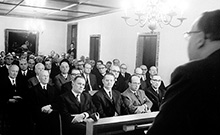 inaugural meeting 1966 Copyright: G.Rudolf/Universit�tsarchiv