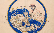 Map of the world, 12th century, Bodleian Libraries, University of Oxford Copyright: University of Oxford