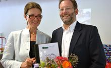 Prof. Dr. Gisela Lück und Christoph Harras-Wolff