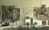 Bei einer Baustellenbesichtigung konnten sich die Studierenden und die Künstler für ihre Werke inspirieren lassen.