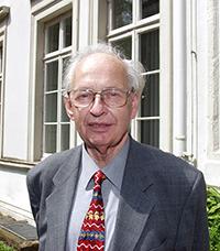 Professor Reinhard Selten, Foto: Universität Bielefeld
