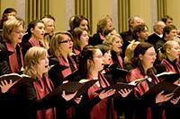 Der Universitätschor Bielefeld präsentiert Mendelssohns Elias, der musikalisch in der Tradition der alttestamentlichen Oratorien Händels steht. Foto: Nico Ackermeier