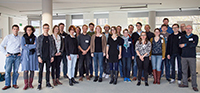 Die jungen Wissenschaftlerinnen und Wissenschaftler aus aller Welt arbeiten in den nächsten zweieinhalb Jahren gemeinsam an interdisziplinären Themen. Foto: ZIF/Universität Bielefeld