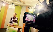 Dirk Ludewig moderiert die 112. Ausgabe von Campus TV