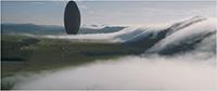 """Im Film """"Arrival"""" landen zwölf riesige Raumschiffe an unterschiedlichen Punkten auf der Erde."""