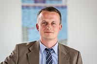 Carsten Pilz, Pressesprecher des dem Bau- und Liegenschaftsbetrieb (BLB) NRW, Niederlassung Bielefeld