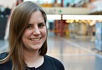 Lena Ruwe, Chemie-Doktorandin und Teilnehmerin der 67. Lindauer Nobelpreisträgertagung.