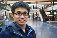 """Bin Zhao, Post-Doc im Bereich """"Theoretische Chemie"""" und Teilnehmer der 67. Lindauer Nobelpreisträgertagung."""
