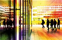 Fremd an der Uni? Lesung und Diskussion. Foto: Universität Bielefeld