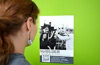 Die Ausstellung VorBILDER wird am 7. Juni in der Halle der Universität Bielefeld eröffnet.