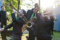 Erstmals tritt die Big Band der Hochschule für Musik Detmold in der Universität Bielefeld auf. Foto: Hochschule für Musik Detmold