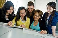 Symbolbild internationale Studierende