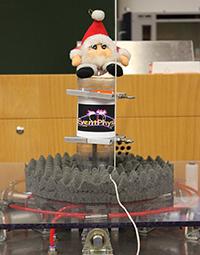 Die Eventphysik zeigt zwei Weihnachtsvorlesungen. Foto: Universität Bielefeld