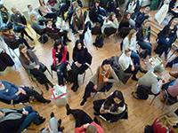 """""""Meet the Female Professionals!"""" ist das Motto der Netzwerkveranstaltung """"Karrierewege nach dem Hochschulabschluss"""". Foto: Universität Bielefeld"""