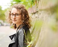 Lara Venghaus ist die Sopranistin des Semesterschlusskonzerts. Foto: Universität Bielefeld / Markus Paulußen