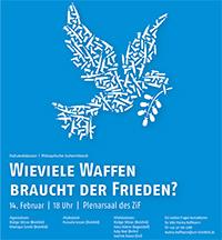 """Plakat zum """"Politischen Aschermittwoch"""""""