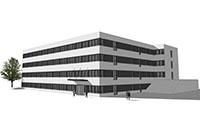 """Die Universität Bielefeld baut 120 neue Büros an der """"Konsequenz""""."""