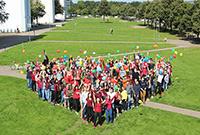 Die Organisatoren rechnen mit 130 Studierenden bei den Sommer-kursen. Nur die Hälfte findet im Studierendend-Wohnheim Platz. Foto: Universität Bielefeld