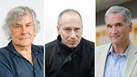 Prof. Dr. Joseph Vogl, Prof. Dr. David I. Kertzer und Prof. Dr. Helmut Lethen.