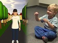 Ein Modell soll zeigen, wie Kinder Gesten beim Sprechen einsetzen. Foto: CITEC/Universität Bielefeld