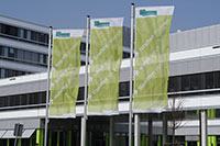 Fahnen Universität Bielefeld