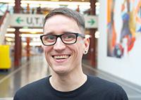 Phillip Neumann. Foto: Universität Bielefeld