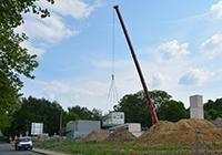 Das Gebäude Z besteht aus insgesamt 90 Modulen, die vorgefertigt auf der Baustelle ankommen.