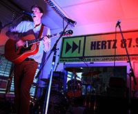 Die Radiobühne bei Hertz 87.9