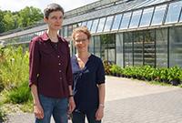 Prof.'in Caroline Müller und Ruth Jakobs.Foto: Universität Bielefeld