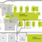 Parkplatzmöglichkeiten der Universität Bielefeld