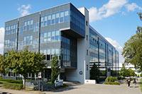 Das Laborgebäude des CeBiTec. Foto: Universität Bielefeld