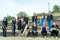 Zum 10. Todestag von Mauricio Kagel spielt das Ensemble Earquake aus Detmold. Foto: Hochschule für Musik Detmold
