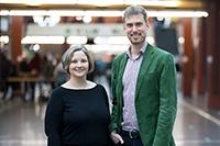 Dr. Turid Frahnow und Professor Dr. Johannes Voit