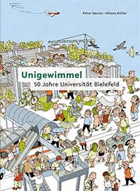 Das Titelbild des Wimmelbuches.