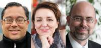 Professor Dr. David Damanik, Professorin Dr. Eva Illouz und Professor Dr. Volker F. Wendisch (v.l.)