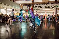 Diego Cancino, Tanzchoreograf unter anderem für das AlarmTheater Bielefeld, präsentiert erneut Mitreißende Rhythmen aus Argentinien. Fotos: Julia Weiher