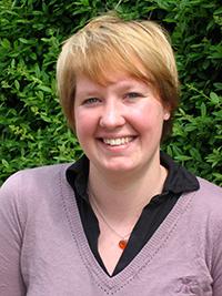 Dr. Wiebke Esdar als Studentin, 2009. Foto: privat