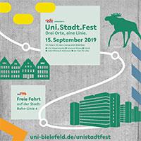 Plakat Uni.Stadt.Fest
