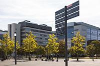 Vom Campus Nord bis Süd sind die Gebäude des Campus nun einfacher und schneller zu finden.