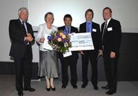Preisverleihung auf der Mitgliederversammlung des Deutschen Vereins: Dieter Hackler (Leiter der Abteilung 3