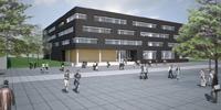 """Forschungsbau """"Interaktive Intelligente Systeme"""" der Universität  Bielefeld –  Simulation der Fassadengestaltung"""