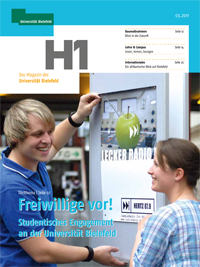 Die neue H1-Ausgabe ist erschienen.