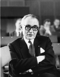 Paul Mikat, Ehrensenator der Universität Bielefeld. Foto: Manfred Kettner